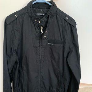 Members Only men's black jacket
